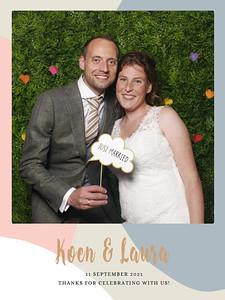 Bruiloft Koen en Laura
