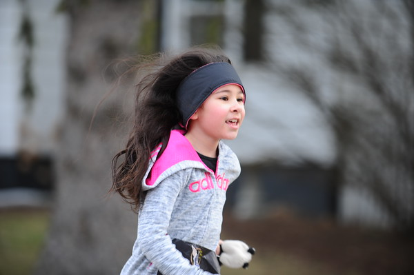 Mile Run Finish - 2018 Bill Roney 5K
