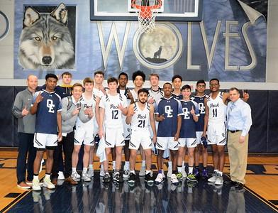OE Varsity Boys Basketball Vs West Aurora (Senior night 2020)