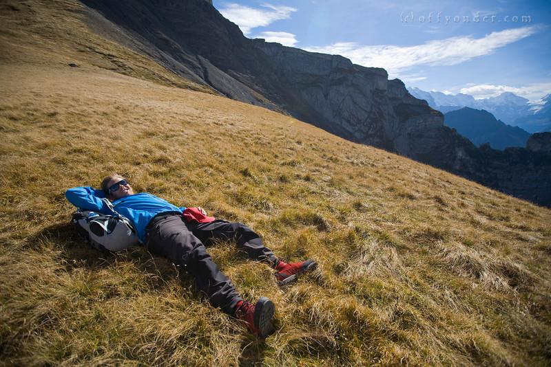 SCHYNIGE PLATTE - GRINDELWALD, SWITZERLAND - Hiking the Bernese Oberland with incredible views of Interlaken, Eiger, Mönch and Jungfrau.