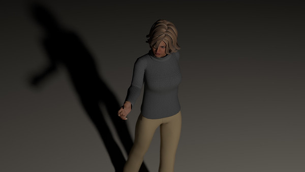 Casual Woman Scene