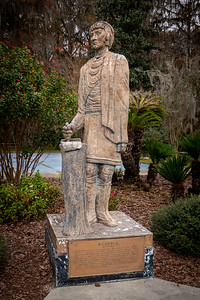 Osceola Statue at Silver Springs State Park