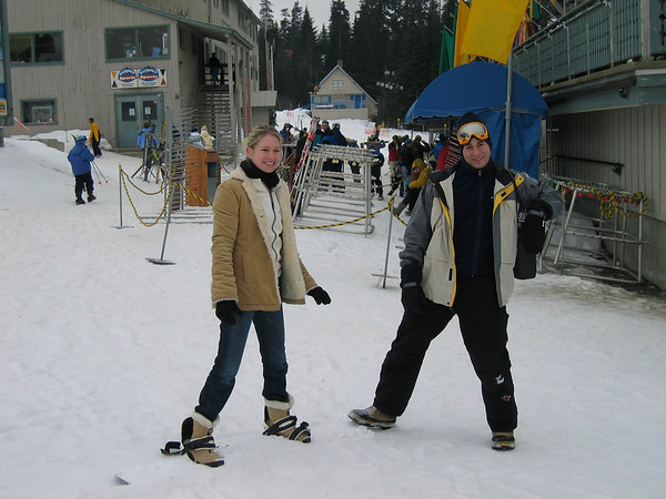Intern Ski Trip 2003 - Skiing