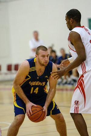 Men's Basketball - Queen's at York 20100115