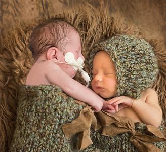 Grant and Grayson Newborn Session 9/5/17