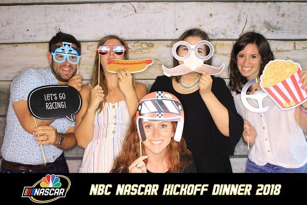"NBC ""NASCAR KICKOFF DINNER 2018"""