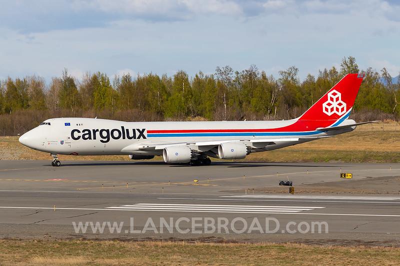 Cargolux 747-8F - LX-VCC - ANC