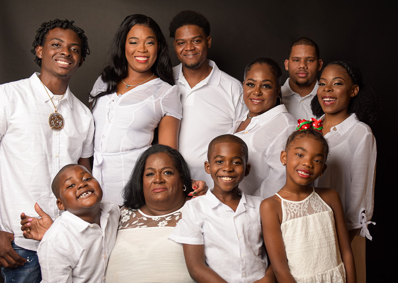 Alicia Moss Family Photos