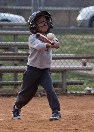 Baseball Practice 3-20-2010