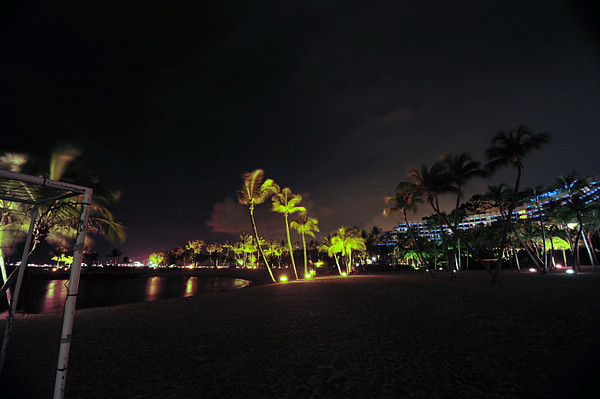 Night Photos at Santosa beach