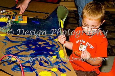 Family Adventure Day at Bemis Art School