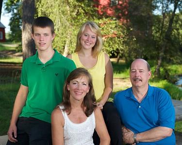 Pat, Kim, & kids