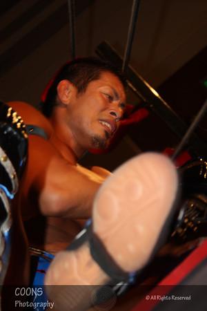 DGUSA 1/27/12 - Masato Yoshino vs Naruki Doi