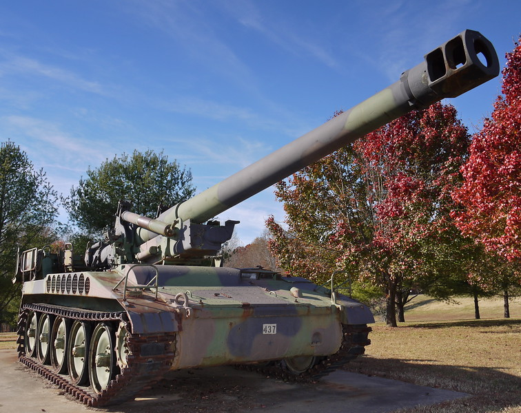 Yadkinville, NC Yadkin County Park/VFW Post # 10346 - M110A2