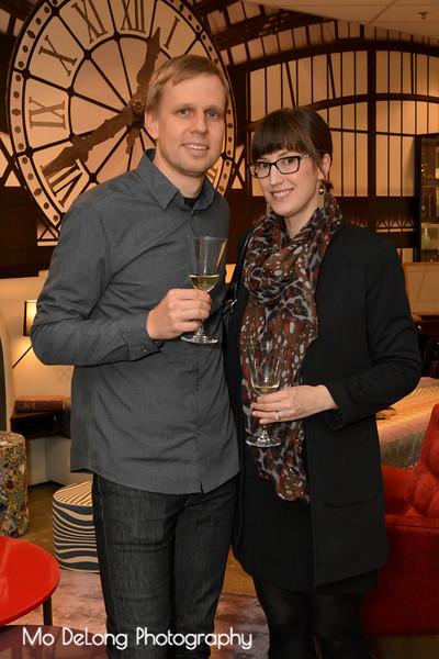 Bjorn and Lauren Steudte