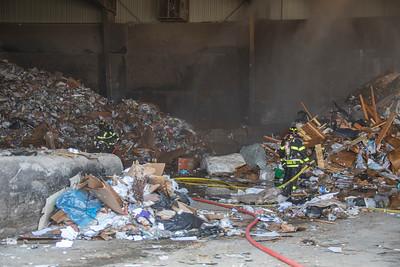 S. Jordan Road Waste Facility Fire