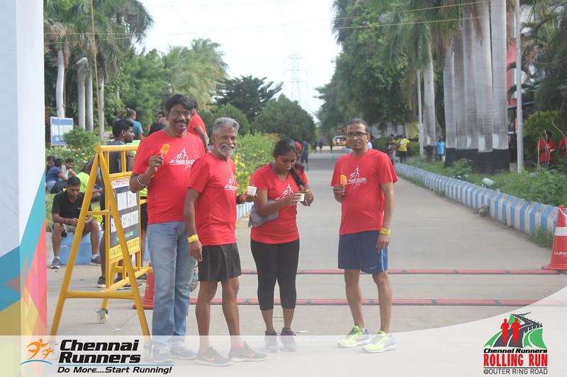 Chennai Runners Rolling Run 2019