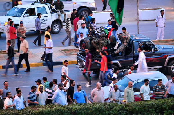 Tibesti Bombing, Benghazi