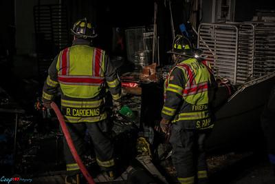 1-11-16 Rubbish Fire, Cortlandt Colonial