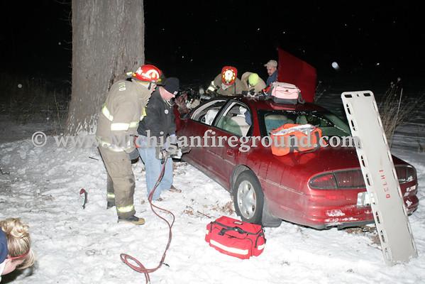 1/31/11 - Onondaga extrication, Onondaga Rd & Stimson Rd
