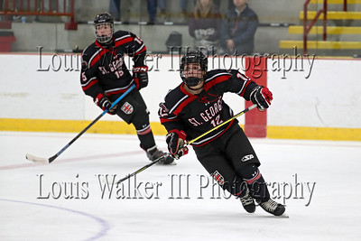 Hockey Dexter Southfield at St George's on 1/29/20