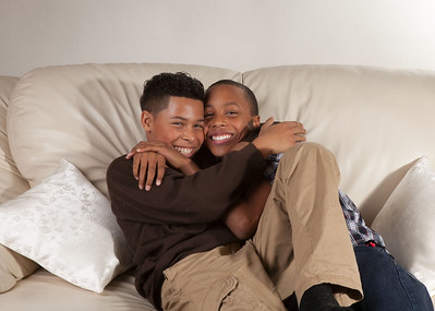 Jordan and Kyan