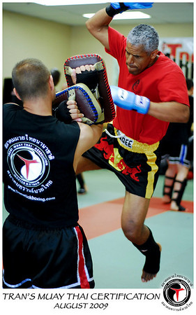 Tran's Muay Thai Instructor Certification - August 2009
