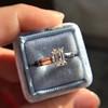 1.00ct Emerald Cut Diamond Solitaire, Platinum 7