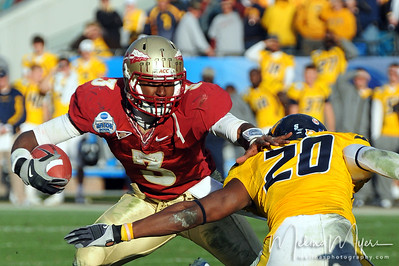 2010 Gator Bowl - FSU vs. West Virginia