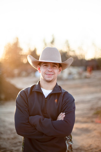 Top 10 Rustic Country Inspired Senior Photos Featuring Justin