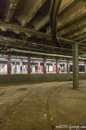 Trolley Ghost Station under Delancey Street
