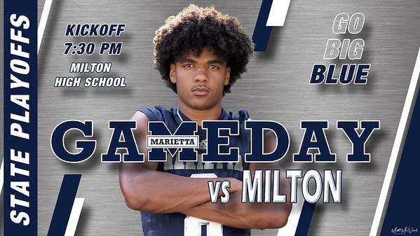 Game 12 - Milton