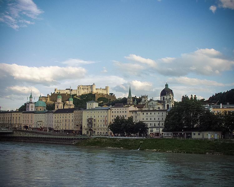 Along the Salzach River