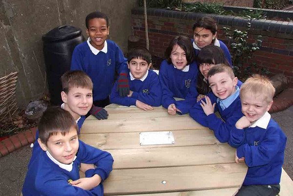 World Friendship Day April 29th. Friendship Bench. Alexandra Pk Primary school