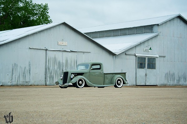 Jerry Curry 1936 Ford Pickup