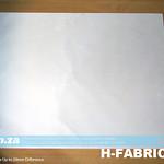 SKU: H-FABRIC/XL, High Temperature Resistant Non-Stick PTFE  (Teflon) Coated Fibreglass Fabric Cloth of 370x460mm Size