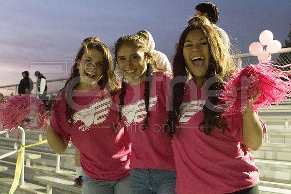Pink out game / fall sports rally