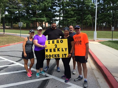 Zero to Weekly Graduates  and Coaches at Northfield 5k