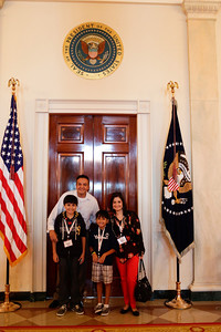 Champions at the White House