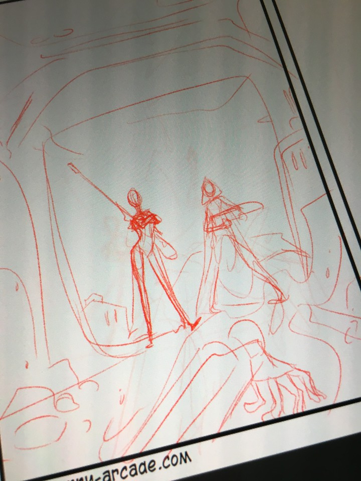 Working on a Destiny comic