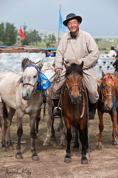 Annual Naadam Festival. Bunkhan Valley, Mongolia