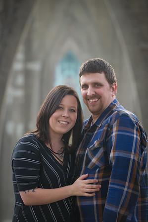 Tony & Ashley Engagement, Cathedral Park