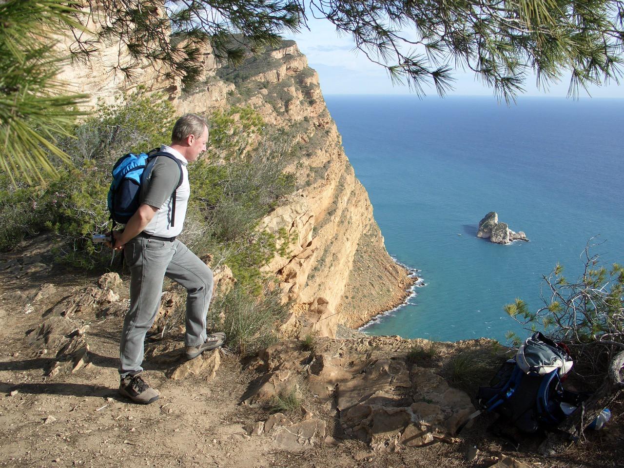 Gary on the Serra Gelada
