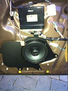 2003 Lexus GS300 Front Speaker Installation - USA