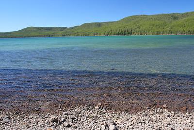 Shoeshone Lake and Lewis Lake Area