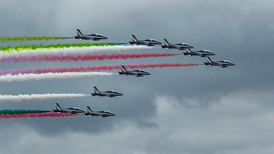 2019 Frecce Tricolori - Italian Airforce @ RIAT