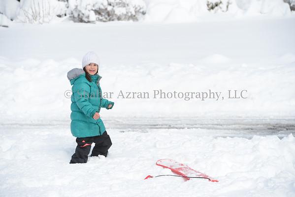 Snow in Tenafly 2013