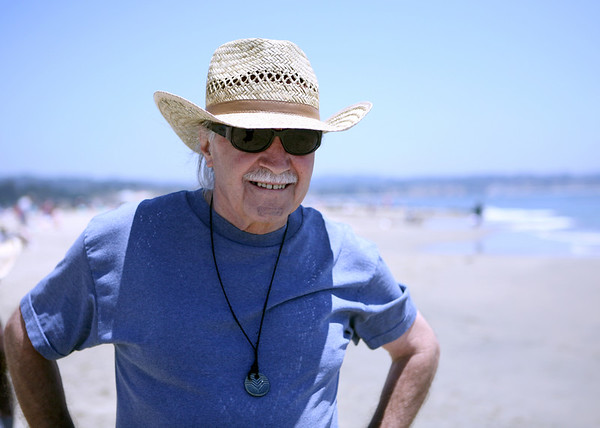 Beach Day with G-pa