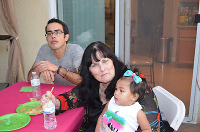 Kaylanni's First Birthday Party (2012)