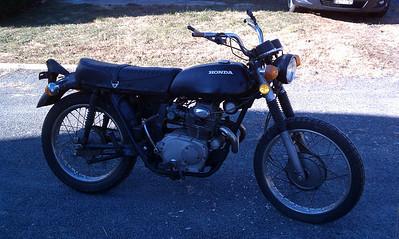 CL175 Vintage Race Bike Project 12.17.2010